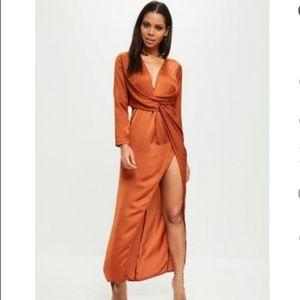 Thigh high dress